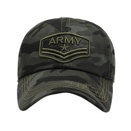 Paintball Camo UK - Tactical Camouflage Tennis Ball Caps Men Embroidery Cotton Paintball Hats Women Camo Combat Army Cap
