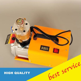 Oil Compressor Australia - set pressure High Pressure Air Pump 30Mpa Electric PCP Compressor Pump 220V 300bar+ air compressor oil water separator oil water