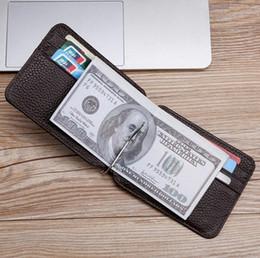 2019 Hombres billetera Carteras estándar Carteras Cuero de vaca suave Hombres billetero Monedero cero Carteras pequeñas Bolso de la tarjeta Al por mayor Corto cuero genuino TP-163