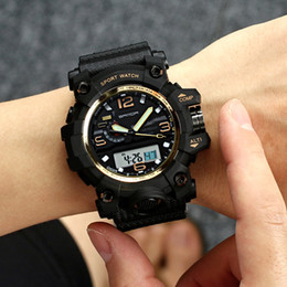 $enCountryForm.capitalKeyWord Australia - G Sport Shock Military Army Watches Men Waterproof Chronograph Clock Men Wrist Watches horloges mannen Wholesale Rubber Strap Sport Watches