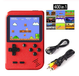 TIPTOP Retro Game Console 400 in 1 Games Game Boy Player per SUP Classical Giochi Gamepad per il regalo Handheld Game Boy in Offerta
