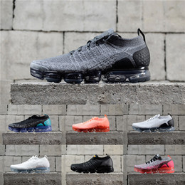 Discount air plus shoes - 2018 Designer Maxes 2.0 Running Shoes For Men Women Tn Plus Air Cushion Sports Sneakers White Jogging Walking Hiking Ath