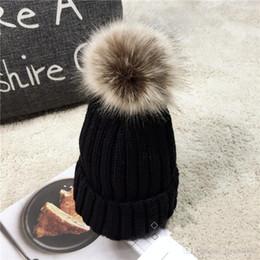 $enCountryForm.capitalKeyWord Australia - Women's Fashion Knitted Cap Autumn Winter Men Cotton Warm Hat CC Skullies Brand Heavy Hair Ball Twist Beanies Solid Color Wool,L8