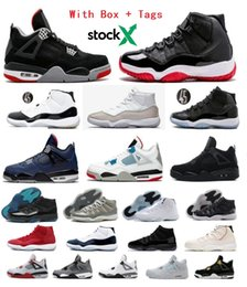 Blue shoe Box online shopping - with box bred basketball shoes concord what the cap and gown sneakers white cement loyal blue black cat cool grey space jam gamma