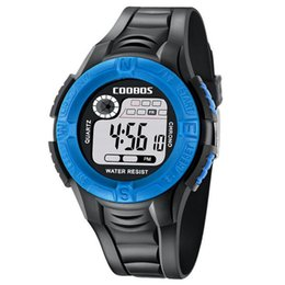 Water Sports Gifts NZ - Children Kids Sports Watches LED Digital Military Watch Multifunction Water Resistant Luminous Wristwatch Boy Girl Students Gift Watch