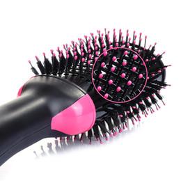$enCountryForm.capitalKeyWord Australia - Electric Hair Dryer Brush Straight Roll Comb Curling Iron Air Brush Hair Curling Iron Rotating Hair dryer Comb styling tool