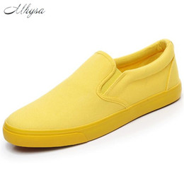 $enCountryForm.capitalKeyWord UK - Mhysa 2019 New spring, summer and autumn a pedal lazy shoes casual comfort flat low cut breathable canvas lovers shoes M075