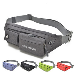 camera bag waist belt Australia - Fanny Pack Pop Tide Unisex Casual Soild Nylon Multi-functional Pockets Belt Camera Bag Waist Free Shipping