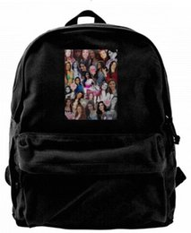 backpacks for college men Australia - FIFTH HARMONY COLLAGES Fashion Canvas designer backpack For Men & Women Teens College Travel Daypack Leisure bag