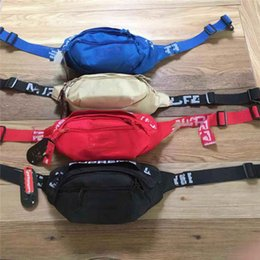 Wholesale 18ss Outdoor Waist Bags Fashion Travelling Hiking Waistpacks Casual Canvas Bags Shoulder Bags For Men Women