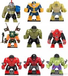 $enCountryForm.capitalKeyWord NZ - Large Hulk Buster Big Super heroes Batman Ironman Green Lantern Venom Thanos Carnage Set Toys X815 X1047 X1048