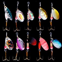 $enCountryForm.capitalKeyWord Australia - lure hard Spiner Metal Lures 5pcs Fishing Lures Hard Bait Fresh Water Bass Walleye Crappie Minnow Fishing Tackle