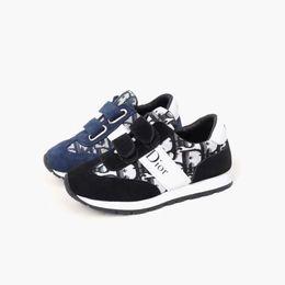 Wholesale fashion dresses for boys resale online - basketball shoe little boy sneakers D letter design fashion shoes tennis walking trainer for baby girl dress sport kid shoes