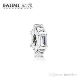 ice flags Canada - YHAMNI 100% 925 Sterling Silver New 797529CZ Ice Sculpture Spacer Charm Original Women's Jewelry Suitable Charming Gift