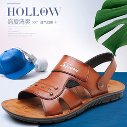 983aaf3b9362 Buffalo shoes online shopping - Summer New Sandals Fashion Buffalo Beach  Shoes Leisure Massage Antiskid Large