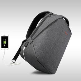 """Halloween Packs Australia - 2018 Design Tigernu brand men backpack anti-theft USB charge port for 14"""" 17"""" laptop backpack school backpack back pack bag"""