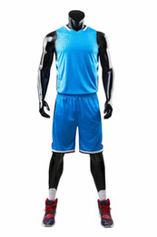 Wholesale 5xl basketball uniforms for sale - Group buy New Style Basketball Uniform Sets Sports Jersey For Men