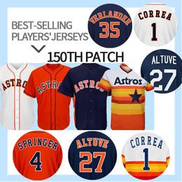 0a3a58bd3 Astros bAsebAll jersey online shopping - 27 Jose Altuve Houston jersey  Astros George Springer Carlos Correa