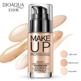 $enCountryForm.capitalKeyWord Australia - BIOAQUA Face Foundation Makeup Base Liquid Foundation BB Cream Concealer Whitening Moisturizer Oil-control Maquiagem