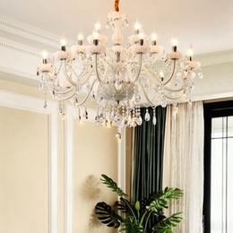 $enCountryForm.capitalKeyWord Australia - Living Room Chandelier Light Luxury European Crystal Chandelier Atmosphere Restaurant Candle Light Simple Post Modern Bedroom Pendant Lamps