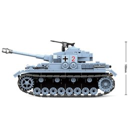 toy soldiers Australia - New Military Building Blocks Tank Model Building Blocks Fit Technic City WW2 Soldier Police Army Bricks Model Enlighten Figure Toys