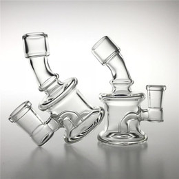 $enCountryForm.capitalKeyWord NZ - New 10mm 14mm Glass Water Bongs with 3.5 Inch Clear Thick Pyrex Glass Beaker Bong Recycler Cool Bongs Mini Hand Smoking Pipes