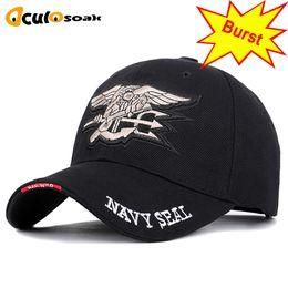 $enCountryForm.capitalKeyWord Australia - Navy Seal Letter Embroidered Streetwear Baseball Caps Unisex Adjustable High Quality Outdoor Sun Hat Dad Hats Truck Driver Cap