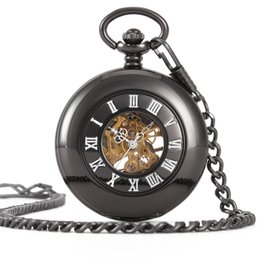 Glass Magnifier Gold Australia - Mechanics Will Pocket Watch Fully Automatic Surface Restore Ancient Ways Renovate Magnifier