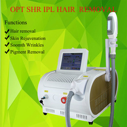 hair salon beauty equipment Canada - 2019 New popular OPT SHR laser salon equipment new style SHR IPL skin care OPT RF IPL hair removal beauty machine Elight Skin Rejuvenation