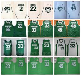 NCAA College Michigan State Spartans 22 Miles Bridges Jersey Basketball 2 Jaren  Jackson Jr 33 Johnson 45 Denzel Valentine 44 Nick Ward caf1fe18c