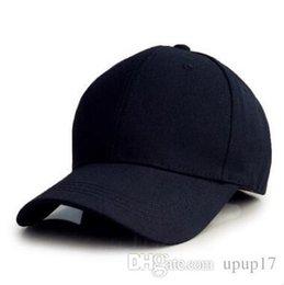 a59cdb74347 Hot New Fashion Men Women Five Colors Korean Version Cotton Solid Color  Baseball Cap Light Plate Sun Hat Outdoor Sports Caps Drop Shipping