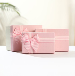 Wrapping Paper Gift Sets Australia - Gift box set birthday gift bag costume paper box gift box wrapping valentine's day heaven and earth cover