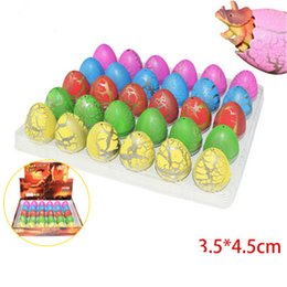 $enCountryForm.capitalKeyWord Australia - 30Pcs Lot Cute Magic Hatching Growing Dinosaur Eggs Add Water Growing Dinosaur Novelty Gag Toys For Child Kids Educational Toys Gifts