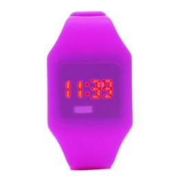 Boys light watches online shopping - Watch for kids Children Watch Boys And girls Silicone LED Sports Bracelet Digital Wrist Girls Watches kids