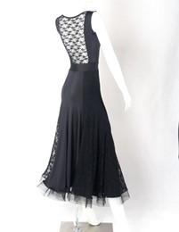 Black flamenco dress online shopping - sexy ballroom dress for ballroom dancing party dresses for women waltz dance costumes foxtrot dance dress Spanish flamenco