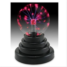 $enCountryForm.capitalKeyWord Australia - Magic Crystal Plasma Ball Light Lightning Sphere Party USB Operated Electrostatic Induction Balls Kids Toy Party Decoration Children Gift
