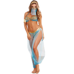 $enCountryForm.capitalKeyWord NZ - Best Selling Lingerie Sexy Underwear Set Women See Through Blue Trendy Clothing Mesh Side Slit Trousers Wholesale Stylish Stage Wear Suit