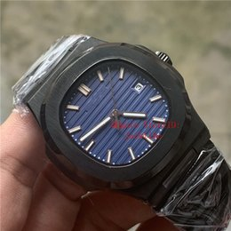 $enCountryForm.capitalKeyWord Australia - Top Luxury Watch Blue Dial Asia 2813 Movement 40mm 5711 1A 5711 Mechanical Transparent Stainless Steel Automatic Mens Watches Wristwatches