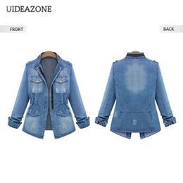 competitive price 62868 50618 Kurzarm-jeansjacke Damen Online Großhandel Vertriebspartner ...