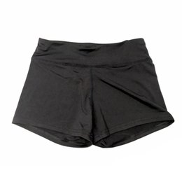 body tutu Australia - Yoga shorts gray new women's polyester black fits excellent body elasticity