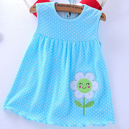 Wholesale new clothing low price for sale – custom 0 Years New Hot Summer Baby Girls Dresses Style Infantile Children s Clothes Princess Flower Style Kids Dress Low Price