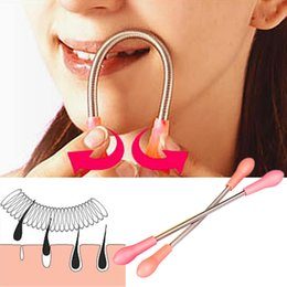 spring threading hair removal Australia - Face Facial Hair Spring Remover Stick Removal Threading Beauty Tool Epilator 300pcs