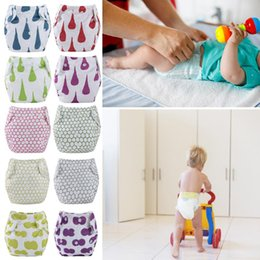diaper pants for babies Australia - Baby Training Pants Panties Reusable Cloth Diapers Nappies Washable Nappy Cotton Underwear for Household Babies Care Accessories