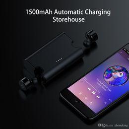 $enCountryForm.capitalKeyWord Australia - Heavy Bass Mini Wireless Earphone Noise Canceling Headphone Bluetooth Headset With Power Box For iPhone 8 Android
