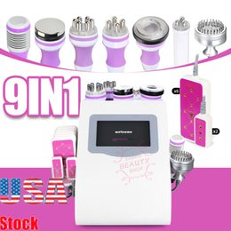 slim sculpting machine Canada - 9 IN 1 Hot Sell Effective Strong 40K Ultrasonic Cavitation Body Sculpting Vacuum RF Skin Firm Body Lift Slimming And Beauty Machine