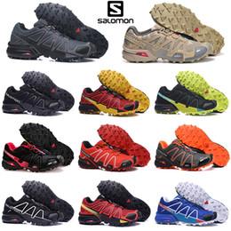 Mens blue crosses online shopping - Originnal Salomon s s Speedcross CS Running Shoes Men Speed cross outdoor mens trainers Athletic Waterproof sports Sneakers jogging hiking