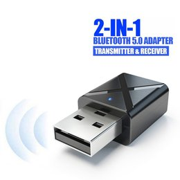 $enCountryForm.capitalKeyWord Australia - USB Bluetooth Receiver Transmitters 5.0 Wireless Audio Music Stereo adapter Dongle for TV PC Bluetooth Speaker Headphone