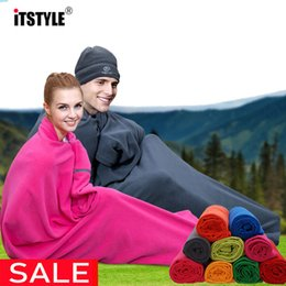 bedding plus Australia - Sport Outcoat Camping Tent Bed Warm Fleece Plus Single Sleep Envelope Bags Liner Slaapzak