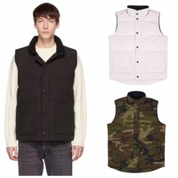 Toptan satış Erkek Yelek Aşağı Ceket Bay Bayan Casual Aşağı Palto Kanada Kış Ceket Erkek Açık Parkas Erkek Kış Coats Isınma