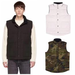 venda por atacado Jacket Vest Mens de Down Homens Mulheres Casual de Down Coats Canadá Inverno Jacket Mens Outdoor Aqueça Parkas Mens Casacos de inverno